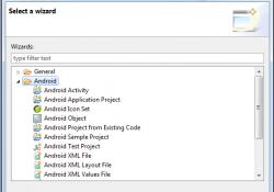 Android Projesi Oluşturmak